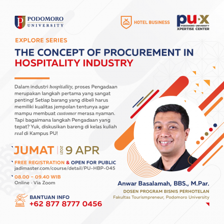 The concept of Procurement in Hospitality Industry