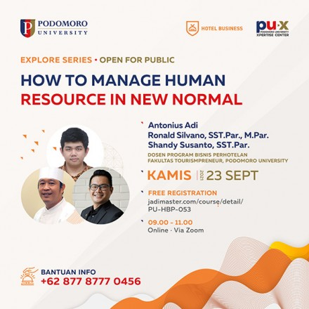 How to Manage Human Resource in New Normal.